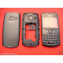 Carcasa Completo Nokia X2-01 Color Negro Solo Pedido