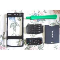 Carcasa Nokia N95 Parte Frontal+tapa+posterior Stock