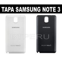 Tapa Posterior Samsung Galaxy Note 3 N900 3g 4g Original