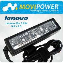 Cargador Lenovo 20v 3.25a. Envío A Todo El Perú !!