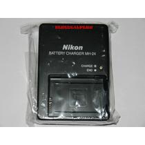 Nuevo Cargador Nikon Mh-24 Original. D5100 D5200 D3100 D3200