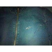 Casaca Jeans Mujer Alpinestar Size Xs