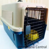 Kennel Transportador L-60 Con Falso Piso. Perros Pequeños