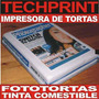 Impresora Color Foto Torta + Tinta Comestible + Papel Arroz