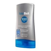 Bloqueador Solar Total Block Spf 100 Marca Unique Nuevo