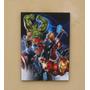 Avengers Cuadro Hulk Iron Man Thor Capitan America