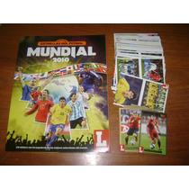 Álbum Estrellas Del Futbol Mundial 2010 - Completo A Pegar