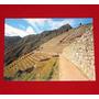 Postal Antigua Machu Picchu Andenes Agrícolas Eismann Cusco