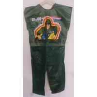 Antiguo Disfraz Traje Gi.joe 1987 Hasbro Coleccionable