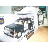 Comercio Autos Policia Ford Explorer Policia / Maisto