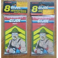 Tarjeta De Invitacion Gi Joe Año1986 Coleccionable