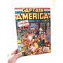 Cuadro De Capitan America (portada De La 1era Revista)