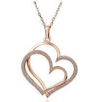 Collar Con Dije De Corazón San Valentín, Enamorados, Novios