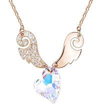 Collar Enchapado En Oro De 18k Con Cristales De Swarovski