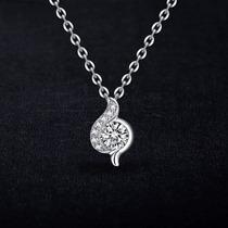 Collar De Plata 925 Con Cristales De Swarovski