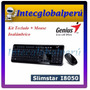 Kit Teclado + Mouse Wireless Genius Slimstar I8050