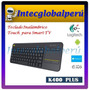 Teclado Logitech Wireless Touch K400 Plus - Para Smart Tv