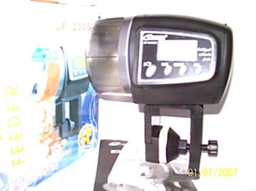 Comedero automatico digital lcd de peces para acuario pez for Comedero automatico para peces