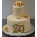 Tortas Maquetas Matrimonio Aniversario Bodas Oro Cumpleaños