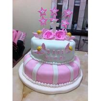 Tortas Y Cupcakes Para Bautizo