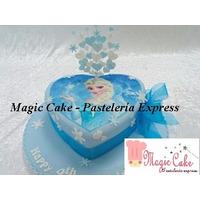 Hermosas Tortas Frozen! Para 30 Porciones A Tan Solo S/. 100