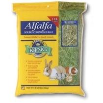 Heno De Alfalfa Importada King 300gr - Alimento Conejo Y Cuy