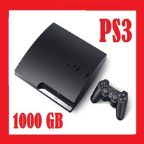 Play Station 3 Flasheado 1000gb + 100 Jueg 1 Año De Garantia