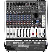 Mixer Xenyx 1222usb Mezcladora Behringer 16 Canales Efectos