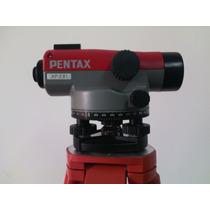 Nivel Automático Pentax Ap281, Trípode, Mira Y Certificicado