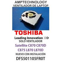 Ventilador Laptop Cpu Fan Toshiba C870 C870d C875 L870 L870d