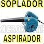 Soplador Y Aspirador Para Pc 600 Watts Powertec