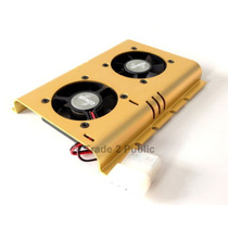 Cooler Para Disco Duro Evercool Ventiladores Min 3 Unid.
