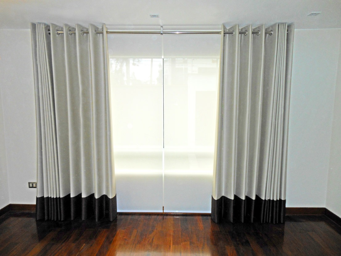 Cortinas modernas para sala auto design tech for Salas modernas