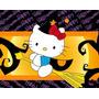 Kit Imprimible 2 Hello Kitty Halloween Invitaciones Cajitas