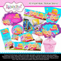 Kit Imprimible Barbie Sirena 3 Tarjetas Invitaciones