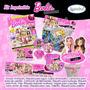 Kit Imprimible Barbie Fashionista Tarjetas Invitaciones 10