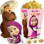Kit Imprimible Masha Y El Oso Cumpleaños + Candy Bar