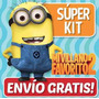Kit Imprimible Minions Mi Villano Favorito 2 Cumples Y Mas