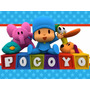 Kit Imprimible 1 Pocoyo Candy Bar Tarjetas Y Mas