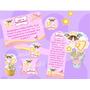 Kit Imprimible Baby Shower Bautizo Comunion Cumpleaño Angel2