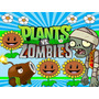 Kit Imprimible 2 Plantas Vs Zombies Diseñá Tarjetas Cumples