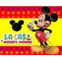 Kit Imprimible 2 Mickey De La Casa De Mickey Mouse Y Mas