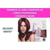 Loreal Profesional Vitamino Color Shampoo Y Tratamientos
