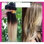 Extensiones De Cabello Natural Californianas Lacias Color 1b