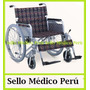 Silla De Ruedas De Aluminio, Llantas Inflables,1ra Calidad!!
