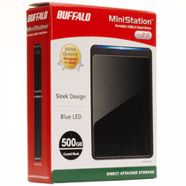 Disco Duro Externo Buffalo De 500 Gb Original - Oferta!!