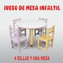 Mesa De Juego Para Niños Y Niñas