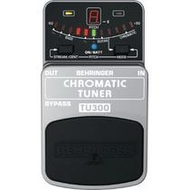 Behringer Tu300 Chromatic Tuner Afinador + Cable Shure