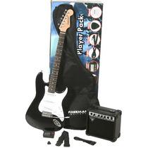 Freeman Guitarra Electrica Pack Amplificador Accesorios Nuev