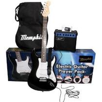 Memphis Guitarra Electrica Pack Amplificador Accesoriostodos